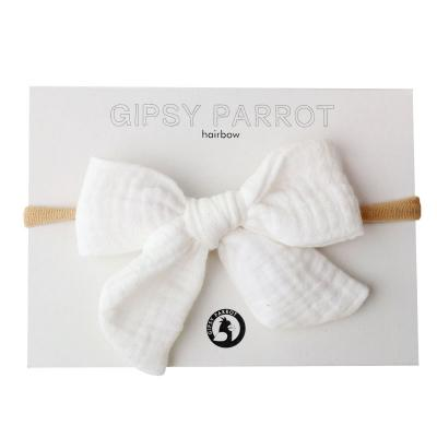 Gipsy Parrot, Muslin-Collection, Fresh White rusettipanta