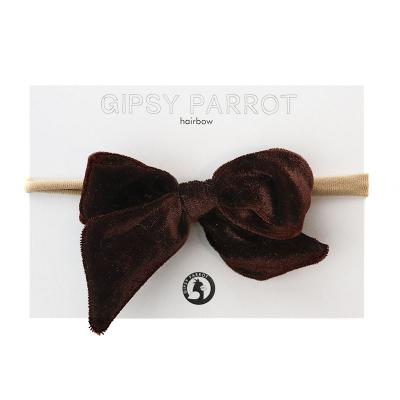 Gipsy Parrot Velvet Dark Brown